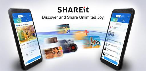 SHAREit on mobile
